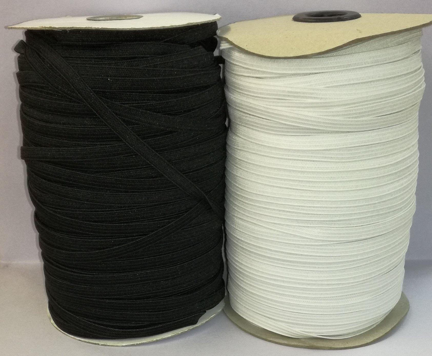 Gumipertli laza 6 mm fehér vagy fekete 25 Ft méter (150 méteres) fc5932329d