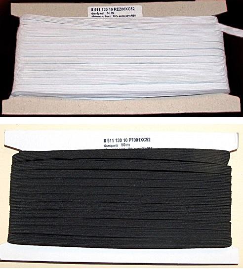 Gumipertli 7 mm fehér vagy fekete fef220f381
